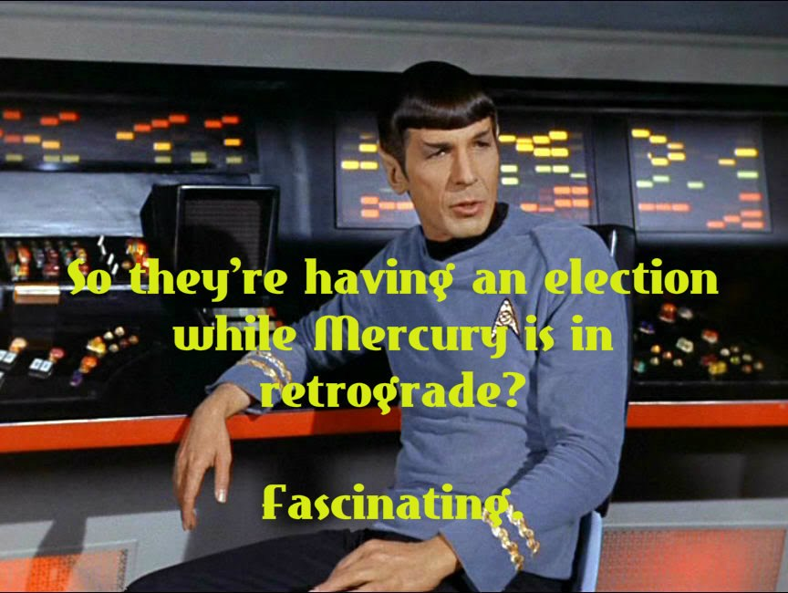 Mr. Spock on the 2012 Election